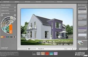 Fassade Streichen Ideen : farbdesigner von sch ner wohnen so funktioniert er sch ner wohnen ~ Markanthonyermac.com Haus und Dekorationen
