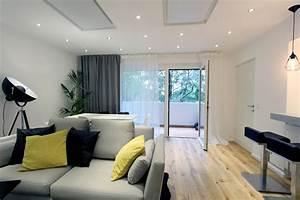 Vorhänge Wohnzimmer Bilder : gardinen praktisch und sch n so geht 39 s ~ Markanthonyermac.com Haus und Dekorationen