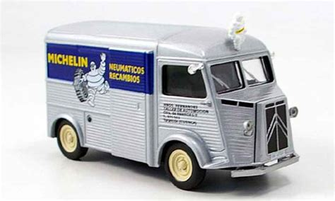 citroen type hy michelin gray metallized mcw diecast model car 1 43 buy sell diecast car on