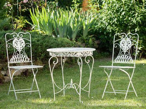 salon de jardin 1 table et 2 chaises fer forg 233 style antique blanc cr 232 me ebay