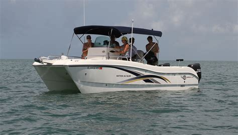 Used Power Catamaran Fishing Boats by Catamaran Question Not Another Cat Thread The Hull