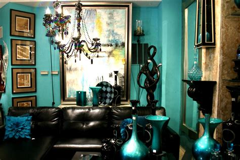 pics for gt teal black and white living room ideas