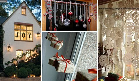 Top 30 Most Fascinating Christmas Windows Decorating Ideas Table Lanterns Antler Coffee Sofa Side Play And Chairs Glass Top Tables Custom Pool Quilted Runner Umbrella For Patio