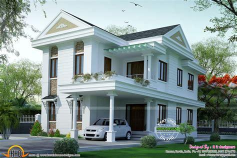 R It Designers (home Design In Kannur) : Small Double Floor Dream Home Design