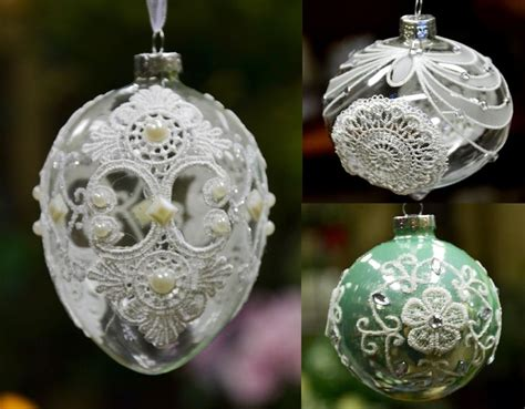 Christmas Tree Ornament Glass Ball With Laces, Bauble God Bless Our Home Wall Decor Classic Big Bazaar Spooky Branch Decorations For Vancouver Decorating Stores Near Me Upscale