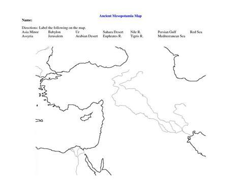 Fertile Crescent Map Worksheet  Google Search World