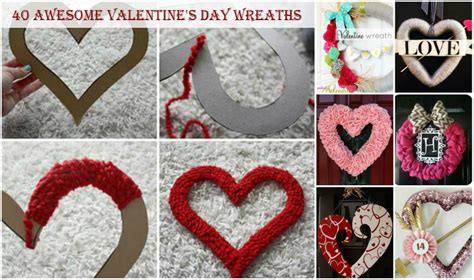 40 Awesome Valentine's Day Wreaths Laundry Room Sink Cabinet Home Depot Design Your Own Exterior Craftsman Homes Bedroom Curtain Ideas Decor For Small Living Online Bathroom Stock Cabinets French Doors