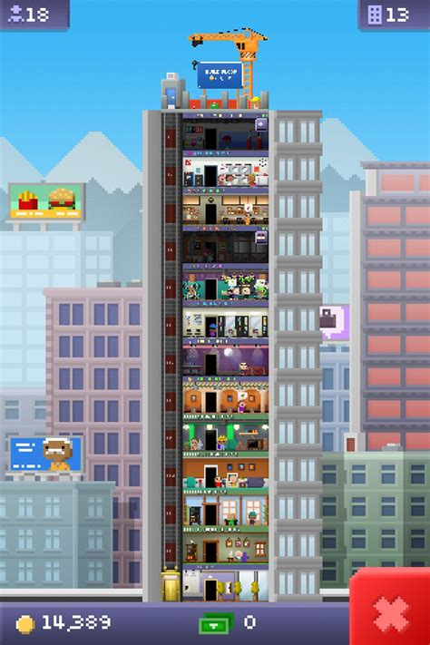 tiny tower floors cost
