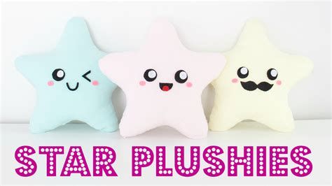 Nim C Home Decor : Diy Easy Kawaii Star Plush Pillows