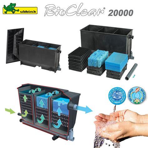 filtre pour bassin ext 233 rieur bioclear 20000 1355056 ubbink 8