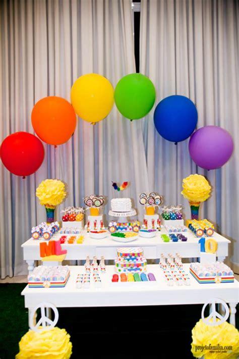 Kara's Party Ideas Rainbow Party Planning Ideas Supplies