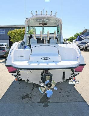 Stern Drive Boat Is by Fishing Monthly Magazines Sterndrive Advantages