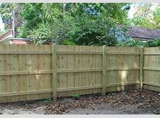 Residential Wood Fence Panels & Wood Fencing Installation