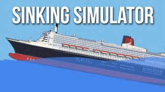 sinking simulator my own cruise ship cruise liner