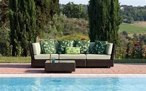 Gartenmöbel Aus Italien : garten sitzbank mit sitzpolstern von emu lifestyle und design ~ Markanthonyermac.com Haus und Dekorationen