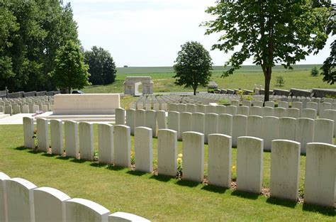Serre Road Cemetery by Serre Road Cemetery No 1