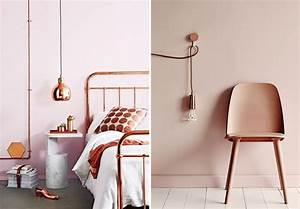 Rose Gold Wandfarbe : dulux 39 s colour of the year is copper how to make it work in your home fads blogfads blog ~ Markanthonyermac.com Haus und Dekorationen