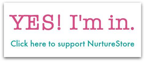 Join The Nurturestore Supporters! Nurturestore