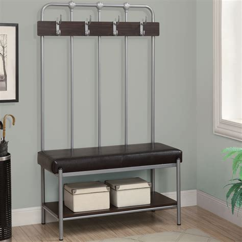 Entryway Bench With Storage And Hooks Awesome