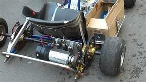 1000 Watt Electric Go Kart Homemade - YouTube