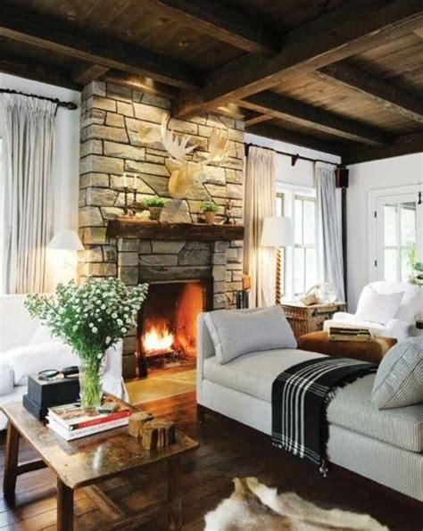 country living room ideas with fireplace 63 living room country house style comfortable living