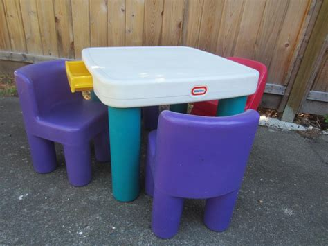 tikes table with four chairs west shore langford