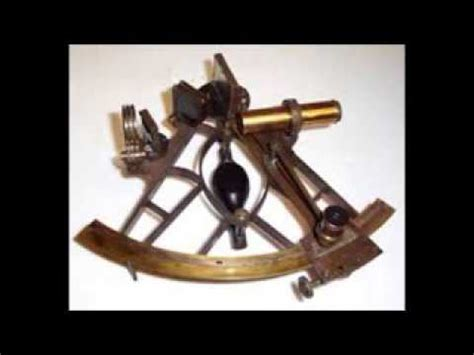 Sextant Measures by Measure Sun With A Sextant Youtube