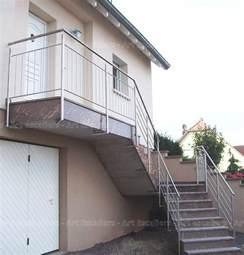 garde corps ext 233 rieur rant m 233 tal inox verre escaliers