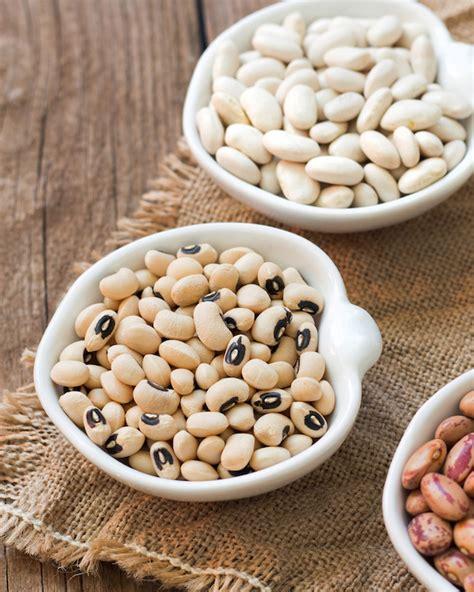 les haricots en grains secs ou frais