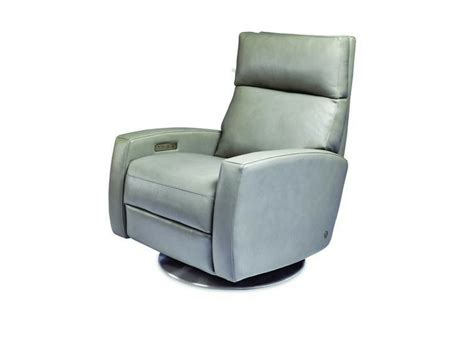american leather elliot comfort recliner swivel base at sc 1 st three chairs american leather