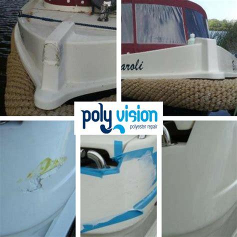 Polyester Boot Reparatie by Polyester Reparatie Boot Aanvaring