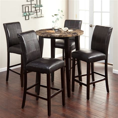 Dining Room Dark Brown Stained Wooden Pub Table Beautify. Desktop Plastic Drawers. Mission Desk With Hutch. Reception Desk Counter. Double Bed With Drawers. Ub Cit Help Desk. Tilt Table. Lateral File Cabinet 2 Drawer. Office Desk With Credenza
