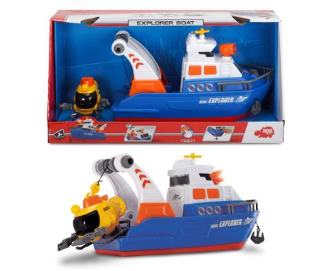 Explorer Toy Boat by Explorer Boat Large Action Series Action Series