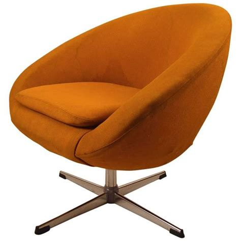 Swivel Pod Dining Chair by Single Overman Swivel Pod Chair For Sale At 1stdibs