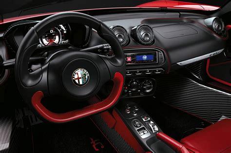 alfa romeo 4c spider review auto express