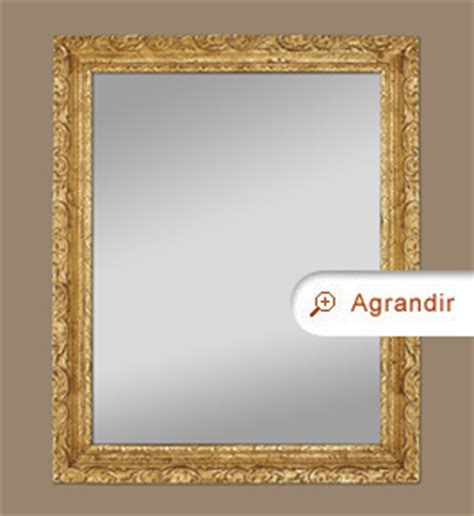 miroir ancien cadre bois dor 233 224 d 233 cor de feuillages miroirs anciens