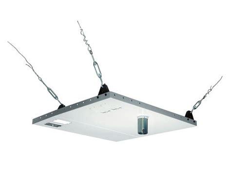 peerless av cmj455 lightweight suspended ceiling plate for projector mounts
