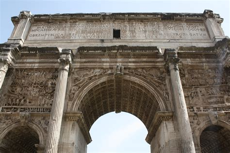 Relieving Arches Of Roman Structures