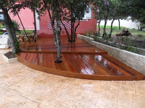 nivrem technique pose terrasse bois exterieur diverses id 233 es de conception de patio en