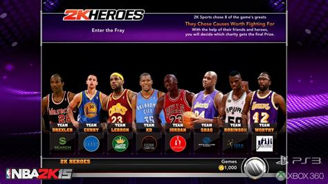 2K Sports Announces 2K Heroes Mode For NBA 2K15, Exclusive