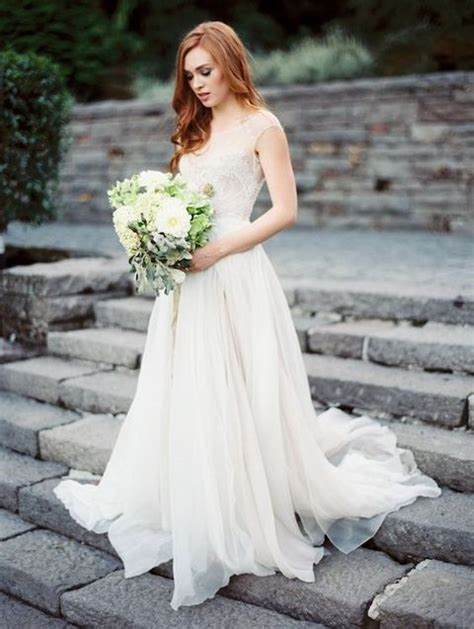 60 Romantic And Airy Flowy Wedding Dresses  Happyweddm. Modest Wedding Dresses Denver Colorado. Beach Wedding Dresses Orlando Fl. Wedding Dresses With Turquoise. Mermaid Wedding Dresses Under 3000. Pretty Wedding Night Dress. Wedding Guest Dresses Dorothy Perkins. Sheath Wedding Dresses With Bling. Elegant Wedding Dresses Stores