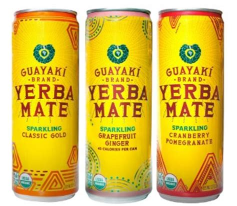 Guayaki Organic Sparkling Yerba Mate: The Perfect Energy Drink
