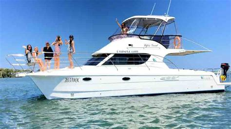 Catamaran Hens Party Gold Coast by Lifes Good Gold Coast Charter Boat Luxury Charter Boats