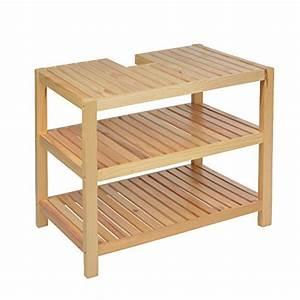 Waschbeckenunterschrank Holz Hängend : mein badezimmer24 waschbeckenuntersch nke h ngend stehend ~ Markanthonyermac.com Haus und Dekorationen