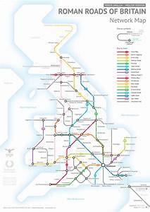 Someone has made a Tube map of Roman Britain, because why ...