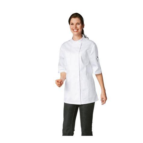 veste de cuisine femme manches courtes bragard verana