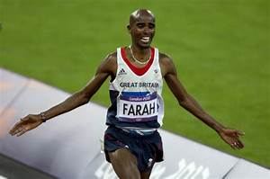 London Olympics 2012: Britain's Mo Farah Wins Historic ...