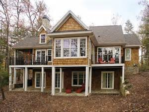 lake house plans with walkout basement craftsman house 24 best images about homes with walkout basements on