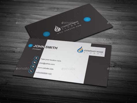 Business Card Illustrator Template 33 Cool Business Cards