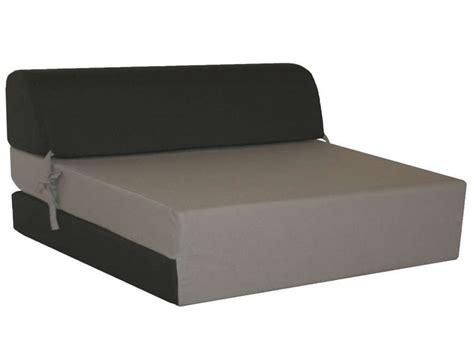 chauffeuse lit d appoint 2 places chappo coloris gris et noir vente de lit d appoint et